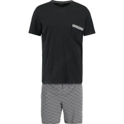 Piżamy męskie: HOM KALEIDO SHORT SLEEPWEAR Piżama black/white