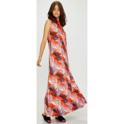 U.S. Polo - Sukienka. Szare sukienki U.S. Polo, na co dzień, l, z bawełny, casualowe, polo, z krótkim rękawem, maxi, proste. W wyprzedaży za 599,90 zł.