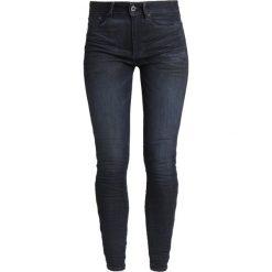 GStar 3301 ULTRA HIGH SKINNY WMN NEW Jeans Skinny Fit elto superstretch. Niebieskie rurki damskie G-Star, z bawełny. Za 559,00 zł.