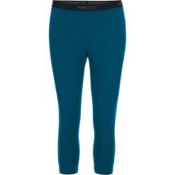 Legginsy sportowe damskie: Sportowe legginsy w kolorze morskim