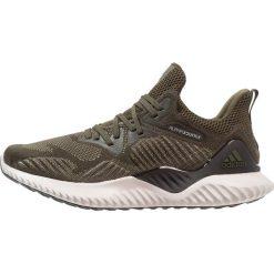 Adidas Performance ALPHABOUNCE BEYOND  Obuwie do biegania treningowe Night Cargo/Core Black/Tech Beige. Zielone buty do biegania męskie adidas Performance, z materiału. W wyprzedaży za 359,20 zł.