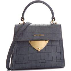 Torebka COCCINELLE - C12 B14 Mat Crocco E1 C12 55 77 01 Noir 001. Szare torebki klasyczne damskie Coccinelle, z nubiku. Za 1549,90 zł.