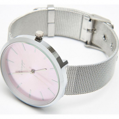 Zegarek w kolorze rose gold - Srebrny. Szare zegarki damskie marki Cropp, srebrne. Za 39,99 zł.