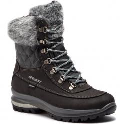 Trekkingi GRISPORT - 14121N5G Nero. Czarne buty trekkingowe damskie Grisport. W wyprzedaży za 339,00 zł.