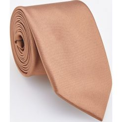 Krawat - Brązowy. Brązowe krawaty męskie Reserved. Za 49,99 zł.