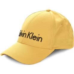 Czapka męska CALVIN KLEIN BLACK LABEL - Calvin Klein Cap W K40K400063 703. Czarne czapki damskie marki Calvin Klein Black Label, z materiału. Za 159,00 zł.