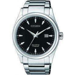 ZEGAREK CITIZEN Titanium BM7360-82E. Czarne zegarki męskie CITIZEN, ze stali. Za 980,00 zł.