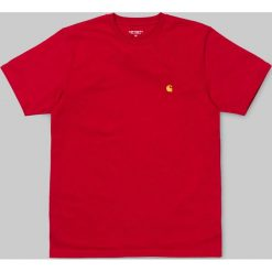 T-shirty męskie: S/S Chase T-Shirt BLAST RED/GOLD