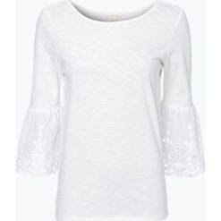 Esprit Casual - Koszulka damska, beżowy. Brązowe t-shirty damskie Esprit Casual, l, w koronkowe wzory, z koronki. Za 69,95 zł.