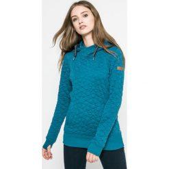 Roxy - Bluza. Zielone bluzy z kapturem damskie marki Roxy, m, z dzianiny. W wyprzedaży za 239,90 zł.