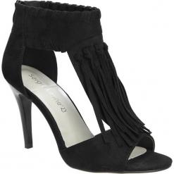 SANDAŁY SERGIO LEONE 43872. Czarne sandały damskie marki Sergio Leone. Za 79,99 zł.