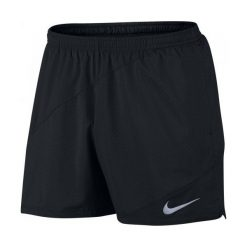 Nike Spodenki Do Biegania M Nk Flx Short 5in Distance M. Czarne spodenki sportowe męskie Nike, z materiału, sportowe. W wyprzedaży za 139,00 zł.