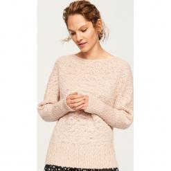 Sweter - Różowy. Czerwone swetry klasyczne damskie Reserved, l. Za 89,99 zł.