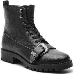 Trapery TRUSSARDI JEANS - 79A00303 K299. Czarne buty zimowe damskie Trussardi Jeans, z jeansu. Za 809,00 zł.