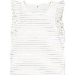 Bluzki dziewczęce: Koszulka w błyszczące paski, 3-12 lat