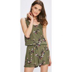 Vero Moda - Kombinezon. Szare kombinezony damskie marki Vero Moda, m, z tkaniny, z okrągłym kołnierzem, na ramiączkach. W wyprzedaży za 69,90 zł.