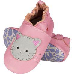 Soxo - Kapcie dziecięce. Szare kapcie dziewczęce marki Soxo, z gumy, z okrągłym noskiem. Za 89,99 zł.