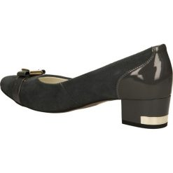 CZÓŁENKA NEŚCIOR 005-A. Czarne buty ślubne damskie Casu. Za 239,99 zł.