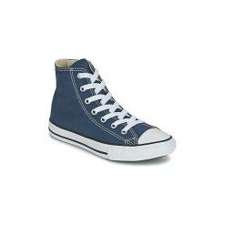 Buty Dziecko Converse  CHUCK TAYLOR ALL STAR CORE HI. Niebieskie trampki chłopięce Converse, retro. Za 219,00 zł.