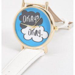 Zegarki damskie: Zegarek na rękę - Biały