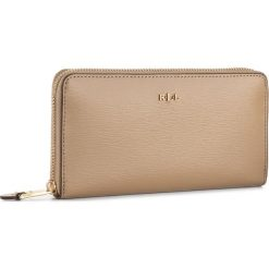 Portfele damskie: Duży Portfel Damski LAUREN RALPH LAUREN – Zip Wallet 432504473050 Cream