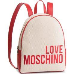 Plecak LOVE MOSCHINO - JC4114PP17LO0107 Naturale. Brązowe plecaki damskie Love Moschino, z materiału. Za 839,00 zł.