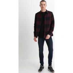New Look MORROW OPEN KNEE Jeans Skinny Fit darkblue denim. Czarne jeansy męskie marki New Look, z materiału, na obcasie. Za 189,00 zł.