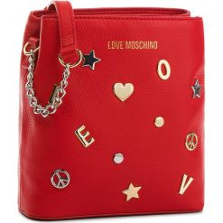 Torebka LOVE MOSCHINO - JC4152PP16LZ0500 Rosso. Czerwone listonoszki damskie Love Moschino, ze skóry. W wyprzedaży za 669,00 zł.