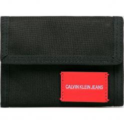 Calvin Klein Jeans - Portfel. Czarne portfele męskie marki Calvin Klein Jeans, z jeansu. Za 179,90 zł.