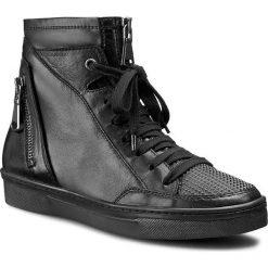 Sneakersy TOSCA BLU - Loft SF1509S167 Nero. Czarne botki damskie na zamek Tosca Blu, ze skóry. W wyprzedaży za 389,00 zł.