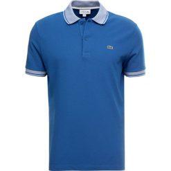 Lacoste Koszulka polo electrique/blanc. Szare koszulki polo marki Lacoste, z bawełny. Za 419,00 zł.