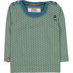 """Koszulka """"While You See A Chance"""" w kolorze niebiesko-żółtym. Niebieskie t-shirty chłopięce z długim rękawem marki 4FunkyFlavours Kids. W wyprzedaży za 72,95 zł."""