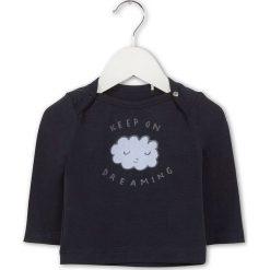 Bluzki dziewczęce: Koszulka w kolorze granatowym