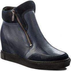 Sneakersy SERGIO BARDI - Arcene FW127275217KD  607. Niebieskie sneakersy damskie Sergio Bardi, z materiału. W wyprzedaży za 209,00 zł.