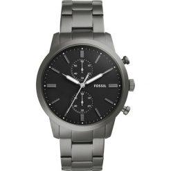 Zegarek FOSSIL - Townsman FS5349 Smoke/Black. Różowe zegarki męskie marki Fossil, szklane. Za 899,00 zł.