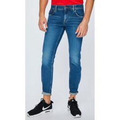 Tommy Hilfiger - Jeansy Denton. Niebieskie jeansy męskie z dziurami TOMMY HILFIGER. W wyprzedaży za 319,90 zł.