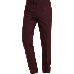 Chinosy męskie: Topman HARVEY   Spodnie materiałowe burgundy