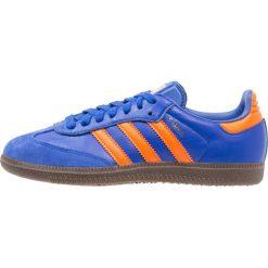 Adidas Originals SAMBA Tenisówki i Trampki boblue/orange. Niebieskie tenisówki damskie marki adidas Originals, z materiału. W wyprzedaży za 359,20 zł.