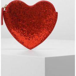 Portfele damskie: Lulu Guinness GLITTER HEART Portfel red