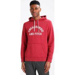 Bejsbolówki męskie: Abercrombie & Fitch DOORBUSTER Bluza z kapturem red