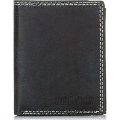 Czarny PORTFEL MĘSKI BLUE & BURRY OCHRONA KART RFID. Czarne portfele męskie marki Pakamera, ze skóry. Za 99,00 zł.