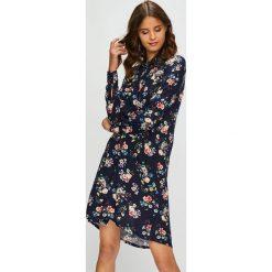 Answear - Sukienka. Czarne długie sukienki marki ANSWEAR, na co dzień, s, z tkaniny, casualowe, z długim rękawem. W wyprzedaży za 119,90 zł.