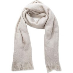 Szal UGG - W Boucle Wrap 17511 Light Grey Heather. Brązowe szaliki damskie Ugg, z materiału. Za 389,00 zł.