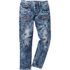 """Dżinsy Regular Fit Straight bonprix niebieski """"used"""". Niebieskie jeansy męskie regular marki House. Za 179,99 zł."""