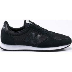 New Balance - Buty WL220TB. Czerwone buty sportowe damskie marki New Balance, z gumy. W wyprzedaży za 259,90 zł.