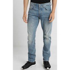 GStar 3301 STRAIGHT TAPERED Jeansy Zwężane higa denim. Niebieskie jeansy męskie G-Star. Za 609,00 zł.