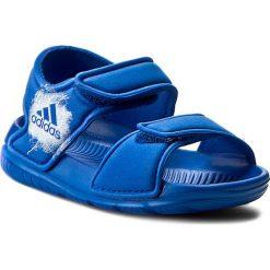 Sandały adidas - AltaSwim I BA9281 Blue/Ftwwht/Ftwwht. Niebieskie sandały chłopięce Adidas, z materiału. Za 99,95 zł.