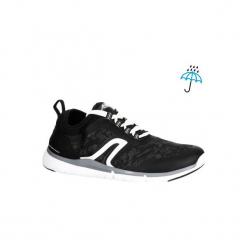 Buty męskie do szybkiego marszu PW 580 RespiDry czarne. Czarne buty fitness męskie NEWFEEL, z gumy. Za 149,99 zł.