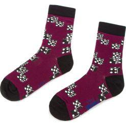 Skarpety Wysokie Unisex FREAK FEET - LDOM-BRG Fioletowy. Niebieskie skarpetki damskie marki Freak Feet, w kolorowe wzory, z bawełny. Za 19,99 zł.