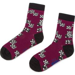 Skarpety Wysokie Unisex FREAK FEET - LDOM-BRG Fioletowy. Fioletowe skarpetki damskie Freak Feet, z bawełny. Za 19,99 zł.